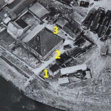 De drie bunkertjes bij de Omval. Bron: Regionaal Archief Alkmaar. Licentie CC-BY